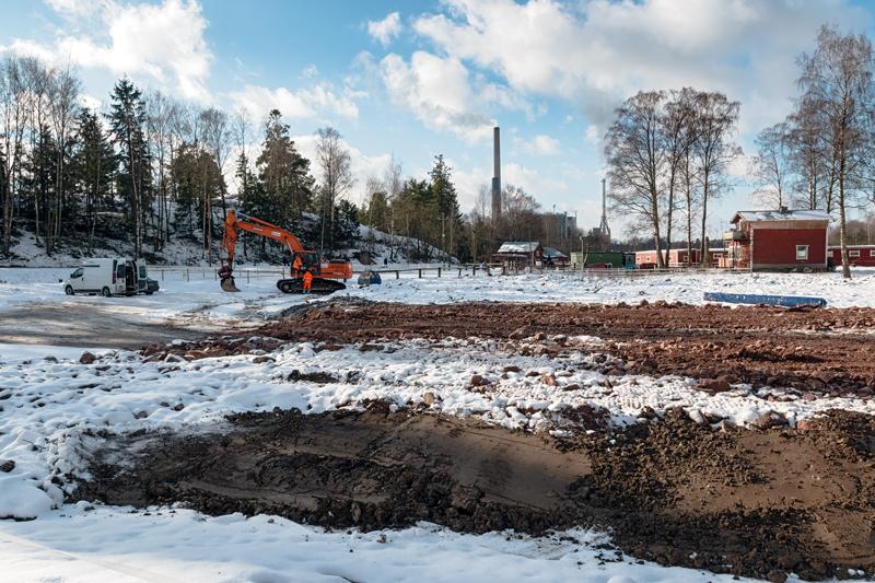 Tallit laajenevat - Kuva: Jukka Ranta
