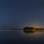 Nuottalahti ja tähtitaivas - Kuva: Paul Stevens
