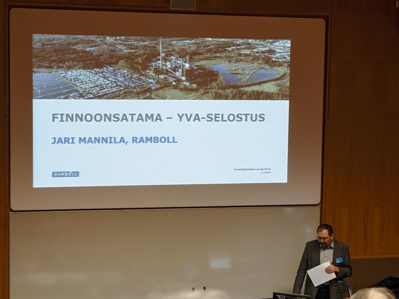 YVA:n toteutti konsulttiyritys Ramboll - Kuva: Jukka Ranta